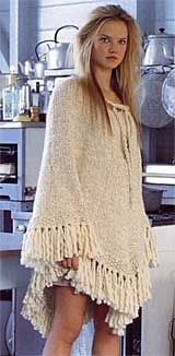 Knitted Poncho Patterns | Knit this Twirl Poncho