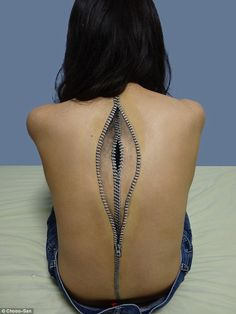 Choo-San - Imgur   Body art done by a 19-year-old Japanese girl