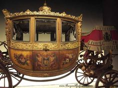 Carriage used for the baptism of the Duke of Bordeaux, 1821