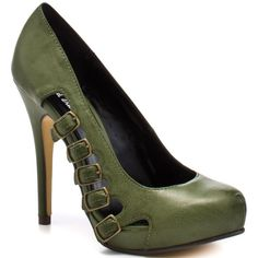 Michael Antonio Langston - Green ($49) ❤ liked on Polyvore