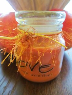 Dollar Store candle idea