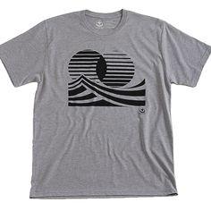 Twin Sun Surf T-shirt – Black