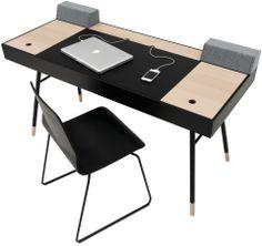 Neue Designermöbel - Qualität von BoConcept® schwarz gebeizte Eiche Furnier / Eiche Furnier / mattschwarzer Strukturlack