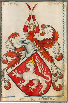 Scheibler'sches Wappenbuch Süddeutschland, um 1450 - 17. Jh. Cod.icon. 312 c  Folio 197
