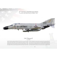 Air Force Bases, Us Air Force, Military Jets, Military Aircraft, Air Vietnam, F4 Phantom, Aerial Arts, Air Space, Color Profile
