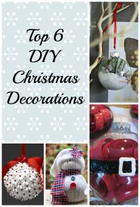 Top 6 DIY Christmas Decorations