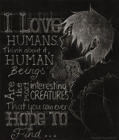 Durarara!! / Izaya Orihara ... He loves humans