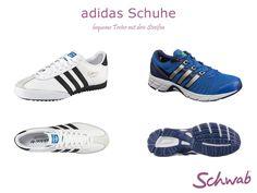 Für jede Situation gibt es adidas Schuhe - vom klassischen Sneaker bis zu innovativen Laufschuhen. #adidasSchuhe