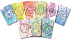 9 Kabbalistic pocket-size Amulets with King Solomon Seals - A small valuable gift  by KabbalahInsights