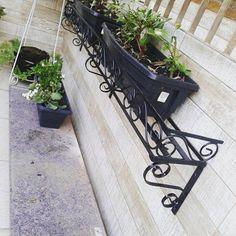 Jardineira de janela com detalhes em arabescos ....  Fabricamos em vários tamanhos ,modelos e cores  》  》  ORÇAMENTOS 27 - 99727 9043 whatssap  》  》  #windows #desing #decoradoras #decor #ideiasdiferentes #steel #homestyle #rústico #moveisrusticos #jardim #varandas #casabonita #garden #style #artesanal #vintage #paisagismo #suculentas #suportes #personalidade #flowers #rosas #jardimvertical #flores #estética #casa #black #janela #retro .