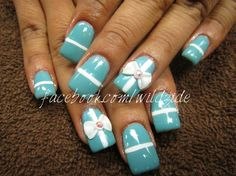 Early present - Nail Art Gallery by www.nailsmag.com #nailart