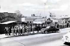 The Hollywood Canteen, which served as a nightclub, opened on October 3rd 1942 and was situated at 1415 Cahuenga Boulevard. Description from classicmoviefavorites.com. I searched for this on bing.com/images