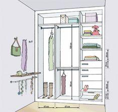 43 Ideas Walk In Closet Makeover Wardrobes