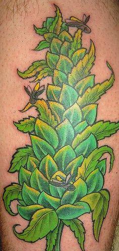 Image from http://stonerdays.com/wp-content/uploads/2013/02/mariijuana-tattoo5.jpeg.