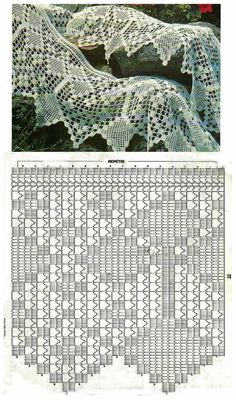 Wzory koronki szydełkowej filet, wzory koronki filet, darmowe wzory filet, detale do koronki filet, koronka siatkowa wzory, DIY, tutoriale, crochet filet patterns Form Crochet, Crochet Dolls, Thread Crochet, Knit Or Crochet, Knit Edge, Crochet Home Decor, Crochet Flowers, Crochet Flower Tutorial, Crochet Designs