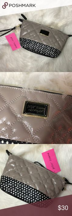 NWT Betsey Johnson Bag Description: Brand new... never used.  ⚠️I always look through each item throughly once received and right before shipping, but things can be missed. Just let me know, so I can improve.⚠️  🚫NO TRADES/NO HOLDS🚫  Please ask questions❓  💜Thank you for checking out my closet and don't be afraid to submit an offer💜 Betsey Johnson Bags