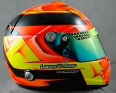 Latest Paint Work — Smart Race Paint -Helmet Painting at it's best-