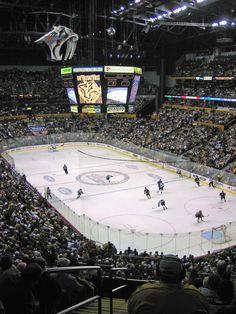 It's Hockey Time in Nashville, Tennessee! (Bridgestone Arena)