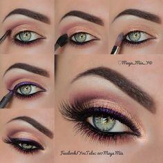 maquillaje de ojos maya mia - Buscar con Google