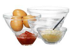Housewares | Bowls | Pompei Kit - 9 pcs | BORMIOLI ROCCO GLASS CO.INC