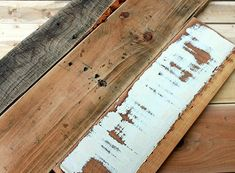 Giving new wood an aged appearance. Great tutorial with plenty of photos from Pretty Handy Girl. #DIY #craft