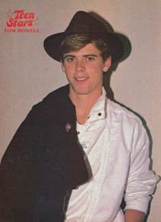 C. Thomas Howell | THOMAS TOMMY HOWELL pinup - HOBOKEN HOLLOW SUMMERLAND - ZTAMS