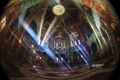 The interior of a traditional church in Transylvania World Ferris Wheel, Workshop, Fair Grounds, Around The Worlds, Traditional, Photography, Image, Beautiful Things, Interior