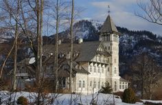 Grundlsee, Schloss Homeland, Austria, Notre Dame, Castles, Mansions, House Styles, Building, Places, Travel