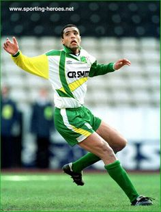 Pierre Van Hooijdonk - Celtic FC - League appearances for Celtic.