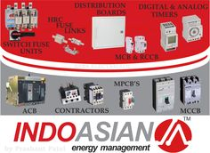 Indo Asian wide range of Low Voltage (LV) switchgear, switches and circuit breaker products
