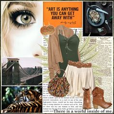 """""""There is a world inside of me"""" by lifestyle-ala-grace ❤ liked on Polyvore"""