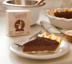 American Heritage Chocolate Tart