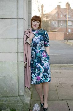 Floral dress for Valentine's Day