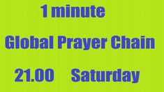 Hi Will you Join 1minute #GlobalPrayerChain to #PrayWithNick🙏 for #Globa...