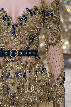 Elie Saab Couture S/S 2017 Runwway Details Couture Details, Fashion Details, Fashion Design, High Fashion, Fashion Beauty, Elie Saab Couture, Fantasy Gowns, Fairytale Dress, Haute Couture Fashion