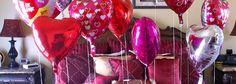 balonlar, kalpler