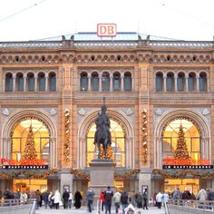 Hannover, Germany- Hauptbahnhof.  It didn't look this lovely in the summer heat when I missed my train...