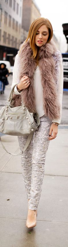 Street Style New York #Fashion #Style