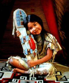 White Wolf: Karen Noles - well loved artist of Native American portraits
