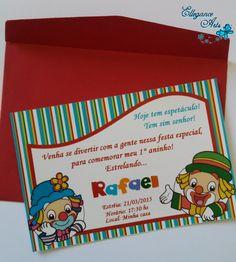 Compre LEMBRANCINHA PERSONALIZADA com o mesmo layout do convite: http://www.elo7.com.br/baldinho-de-pipoca-patati-patata/dp/4BBC87 <br> <br>*Foto meramente ilustrativa. <br>______________________________________________ <br> <br>Convite Patati Patata <br> <br>Tamanho 10x15 <br> <br>Revelação Fotográfica <br> <br> R$ 2,30 (unidade) + FRETE. <br>INCLUSO NO VALOR :(convite + envelope + adesivo para lacrar) <br> <br>OBSERVAÇÃO IMPORTANTE: <br>Podem ocorrer variações nas tonalidades das cores…