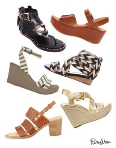 30 Comfortable Sandals via @PureWow  Can a girl really ever have to many shots?