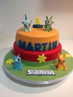 Tarta Slugterra / Slugterra Cake
