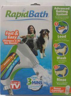 Amazon.com: Rapid Bath Pet Bathing System: Pet Supplies