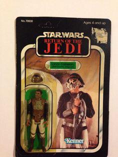 Star Wars ROTJ Lando Calrissian Skiff Guard disguise MOC SW Vintage Action Figure Toy 80's Return of the Jedi $50