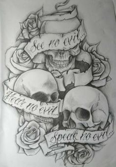 Tattoos Are Art Too: Skulls