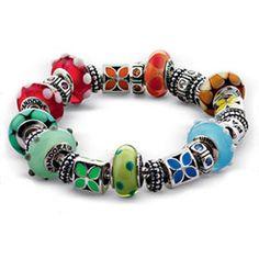 rainbow Pandora bracelet