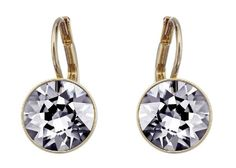 f08cc2f8a SWAROVSKI Bella Mini Pierced Earrings - Silver Night, $60 ON JENEELOVEE.COM  - Ideally