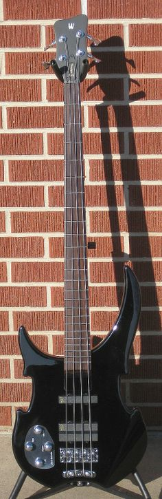 WARWICK Rock Bass Vampyre-4 Black Left Handed 4-String Electric Bass Guitar