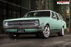 Sadie the HK Holden wagon has been in the McAuley family since new