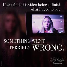 Hanna, please stop scaring us.  | Pretty Little Liars